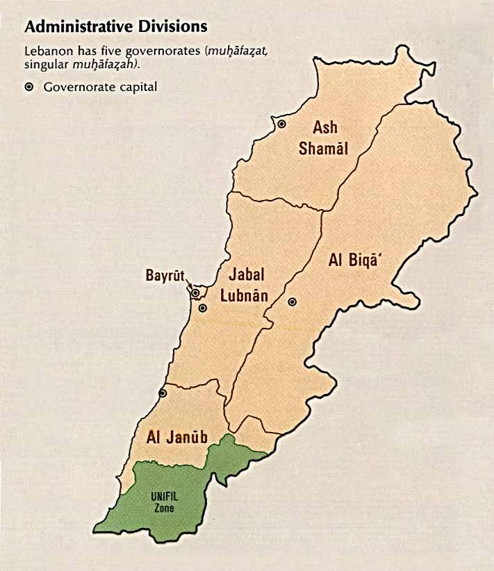 lebanon_divisions