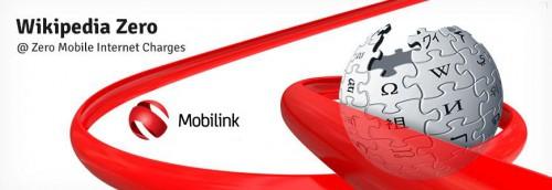 Mobilink Wikipedia @zero