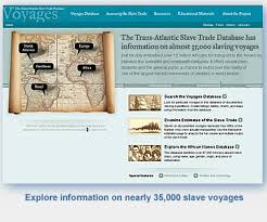 Trans-Atlantic Slave Trade Database