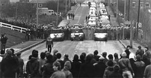 Cortonwood, enero de 1985. la represión de los huelgistas  (Foto: John Sturrock / Socialist Worker)
