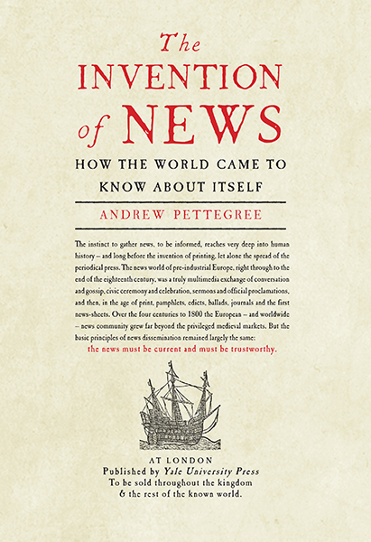 The Invention of News